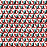Seamless cubic triangular abstract geometric isometric pattern background texture. Seamless cubic triangular abstract geometric isometric pattern background Royalty Free Stock Photography