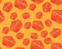 Seamless Cupcake Stock Images