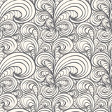 Seamless curl pattern Stock Photos