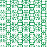 Seamless curl pattern Royalty Free Stock Photography