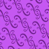 Seamless Curled Repeat Pattern Royalty Free Stock Image