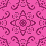 Seamless curled repeat pattern Royalty Free Stock Photos
