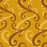 Seamless curled repeat pattern Stock Photography