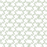 Seamless curly vintage background, wallpaper. Stock Image