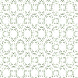 Seamless curly vintage background, wallpaper. Royalty Free Stock Image