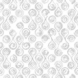 Seamless Curved Shape Pattern Royalty Free Stock Photos