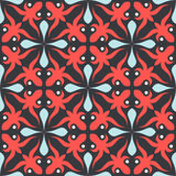Seamless curves pattern stock illustration