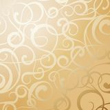 Seamless curves pattern. Stock Images
