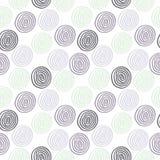 Seamless cute circle background Stock Image