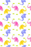 Seamless cute elephant Royalty Free Stock Photo