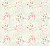 Seamless cute floral pattern Stock Photos