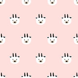 Seamless cute goat pattern. Seamless pattern,cute goat art  background design for fabric and decor Stock Images