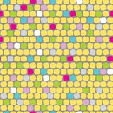 Seamless cute mosaic Royalty Free Stock Images