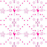 Seamless cute pattern Royalty Free Stock Image
