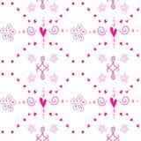 Seamless cute pattern Royalty Free Stock Image