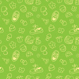 Seamless cute pattern for children. Royalty Free Stock Photo