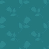 Seamless cute rose ,flower pattern vector Royalty Free Stock Photos