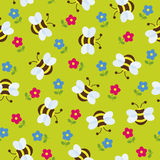 Seamless cute wallpaper Royalty Free Stock Photo