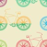 seamless cykelmodell Arkivbilder