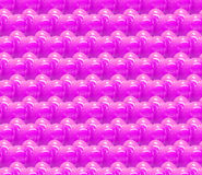 Seamless 3d background with shiny pink hearts Royalty Free Stock Photos
