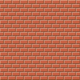 Seamless 3D brick wall texture. Design for background, illustration, surface, etc Royalty Free Stock Photos