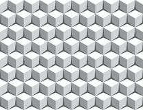 Seamless 3d cube pattern background Stock Photos