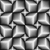 Seamless 3d Cube Pattern. Vector Volume Background.  Royalty Free Stock Images