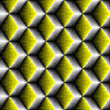 Seamless 3d Cube Pattern. Vector Volume Background Stock Photography