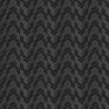 Seamless 3D elegant dark paper art pattern 122 Arrow Geometry. Antique black paper art retro abstract seamless pattern background Royalty Free Stock Photos
