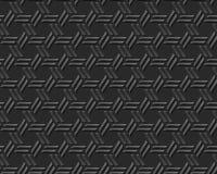 Seamless 3D elegant dark paper art pattern 292 Cross Polygon Geometry Stock Photos