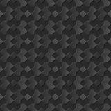 Seamless 3D elegant dark paper art pattern 039 Square Geometry Stock Image