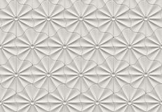 Seamless 3d flower pattern Royalty Free Stock Images