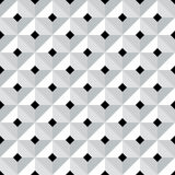 Seamless 3d geometric pattern. Stock Image