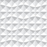 Seamless 3d geometric pattern. Royalty Free Stock Photos