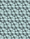 Seamless 3D  pattern. 3D abstract Cubes, seamless pattern illustration vector Royalty Free Stock Photo
