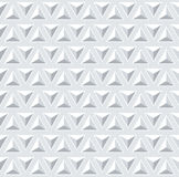 Seamless 3d pattern. Geometric triangles texture. Royalty Free Stock Images