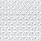 Seamless 3d pattern. Geometric triangles texture. Royalty Free Stock Photo
