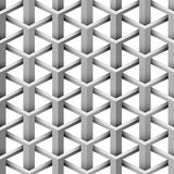 Seamless 3D pattern. Seamless 3D illusion intersecting triangle pattern vector illustration
