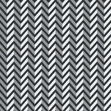 Seamless 3d zigzag pattern. Royalty Free Stock Photo