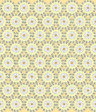 Seamless daisies vector pattern Royalty Free Stock Photography