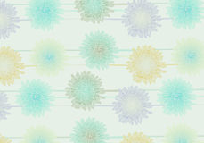 Seamless daisy flower background Royalty Free Stock Image