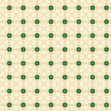 Seamless Daisy Pattern Design. A completely seamless abstract tile-able paper pattern royalty free stock image