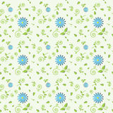 Seamless daisy pattern Royalty Free Stock Photo