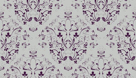 Seamless Damask Stock Photos