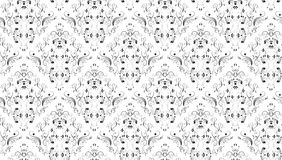 Seamless Damask Stock Photography