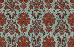 Seamless Damask Stock Images
