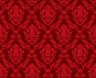 Seamless damask background Royalty Free Stock Image