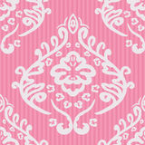 Seamless damask background Royalty Free Stock Photo