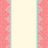 Seamless damask background Stock Photography