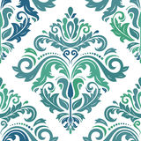 Seamless Damask Background Royalty Free Stock Photos